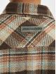 PEGADOR Košile Delta Heavy Flannel hnědý