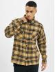 PEGADOR Koszule Flato Heavy Flannel bezowy