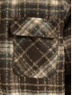PEGADOR Lightweight Jacket Fontana Hooded Zip Hairy Flannel brown