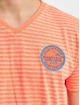 Petrol Industries T-Shirty Men pomaranczowy