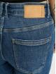 Pieces dżinsy przylegające pcLili Slim Mid Waist Noos niebieski