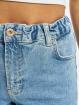 Pieces Mom Jeans pcLeah Ankle Elastic Waist LB153 BC blau