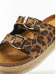 Pieces Sandals psAlex Esperdrille brown