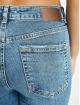 Pieces Slim Fit Jeans pcCara modrá