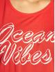 Pieces Tank Tops pcBocean Beach red