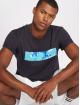 Pink Dolphin T-skjorter Letterbox blå 0