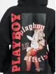 Playboy x DEF Hoody Small Logo schwarz
