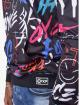 Project X Paris Bluzy z kapturem Graffiti czarny