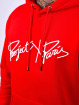 Project X Paris Felpa con cappuccio Logo Embroidery rosso