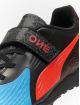 Puma Performance Outdoorschuhe One 19.4 TT Velcro Junior modrá