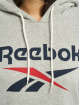 Reebok Sudadera Identity Big Logo French Terry gris