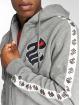 Rocawear Zip Hoodie Stripe szary