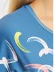 Sergio Tacchini T-Shirty Abstract niebieski
