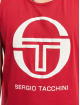 Sergio Tacchini Tank Tops Funes rot