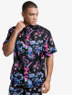 Sik Silk Camicia Hawaii Resort Shirt nero