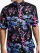 Sik Silk Camisa Hawaii Resort Shirt negro