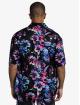 Sik Silk Hemd Hawaii Resort Shirt schwarz