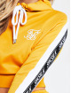 Sik Silk Hoodie Cropped 90s Panel yellow 3