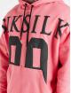 Sik Silk Hoodies Drop Shoulder Relaxed Fit pink