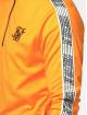 Sik Silk Hoody 1/4 Zip Overhead Runner orange