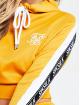 Sik Silk Sweat capuche Cropped 90s Panel jaune