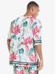 Sik Silk T-paidat Retro Tropics Essential kirjava