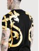Sik Silk T-paidat Reverse Collar musta 3