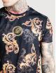 Sik Silk T-Shirt Reverse Collar schwarz 3