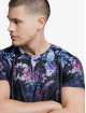 Sik Silk t-shirt Hawaii High Fade zwart