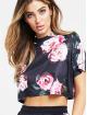 Sik Silk T-shirts Retro Box Crop mangefarvet 0