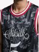 Sik Silk Tank Top Status Hawaii Basketball svart