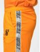 Sik Silk tepláky Cuffed Cropped Runner oranžová