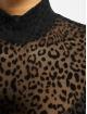Sixth June Body Leopard schwarz