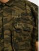 Sixth June Hemd Destroyed Oversize camouflage