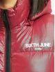 Sixth June Kurtki pikowane Vinyl Down czerwony