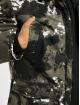 Sixth June Parka Moutain Print Parka With Fur noir