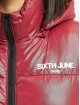 Sixth June Puffer Jacket Vinyl Down red