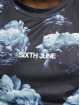 Sixth June T-Shirt Flower Faded Sport blue