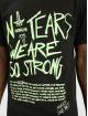 Sixth June T-skjorter Fluorescent svart