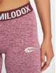 Smilodox Sportleggings Seamless Recent red 1