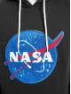 Southpole Bluzy z kapturem Nasa Insignia Logo czarny