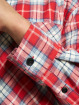 Southpole Chemise Checked Woven rouge