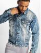 Southpole Jeansjackor Basic blå