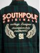 Southpole Prechodné vetrovky Flannel Application zelená