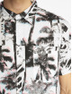 Southpole Shirt Palm Tree Box Print white 4