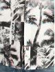 Southpole Skjorta Palm Tree Box Print vit
