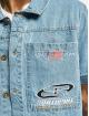 Southpole Skjorte Short blå