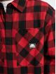 Southpole Skjorte Check Flannel rød