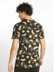 Southpole T-Shirt Watermelon & Flamingo Print black 1