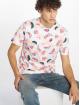 Southpole T-Shirt Watermelon & Flamingo Print white 0